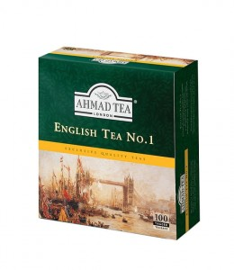 Ahmad English No1 Tea herbata 100 torebek