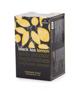 Vintage Teas herbata Black Tea Lemon 30 torebek
