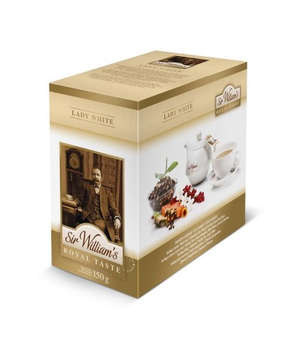 Sir Williams Royal Taste Lady White Herbata 50 saszetek