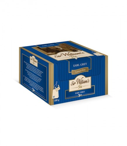 Sir Williams Tea Earl Grey Herbata 50 saszetek
