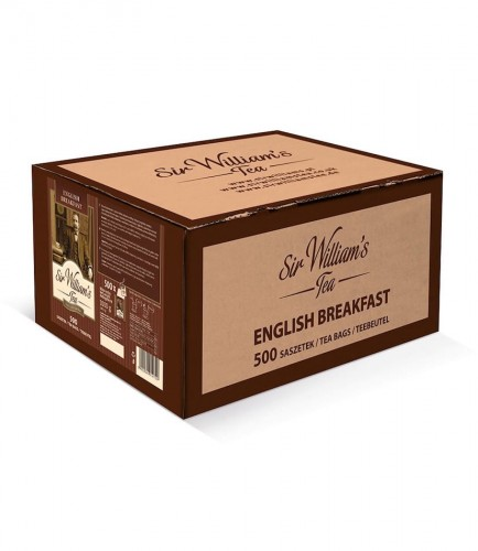 Sir Williams Tea English Breakfast Herbata 500 saszetek