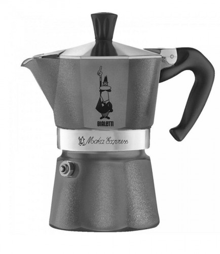 Kawiarka Bialetti Moka Express Grey Diamond 6tz