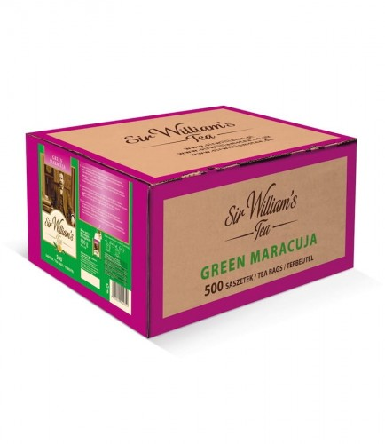 Sir Williams Tea Green Maracuja Herbata 500 saszetek