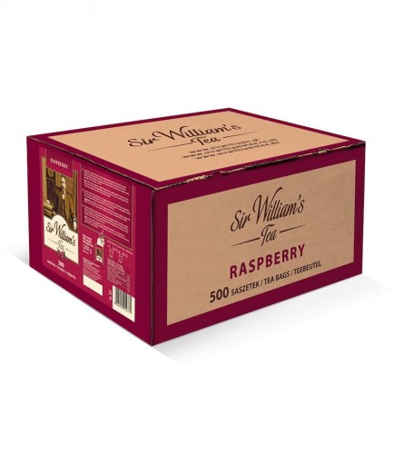 Sir Williams Tea Raspberry Herbata 500 saszetek