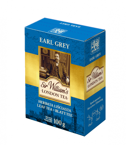 Sir Williams London Earl Grey Herbata sypana 100g