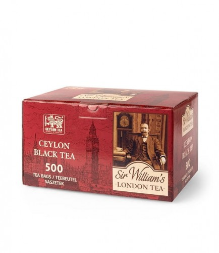 Herbata Sir William's London Ceylon Black Tea 500 Szt.