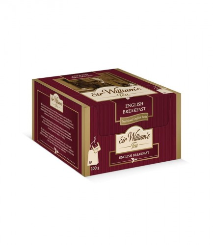 Sir Williams Tea English Breakfast Herbata 50 saszetek