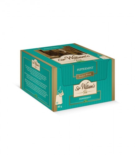 Sir Williams Tea Peppermint Herbata 50 saszetek