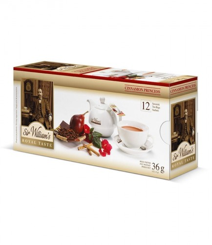 Sir Williams Royal Taste Cinnamon Princess Herbata 12 saszetek