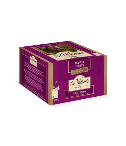 Sir Williams Tea Forest Fruits Herbata 50 saszetek