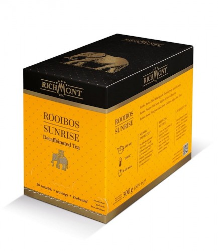 Richmont Excellence Rooibos Sunrise Herbata 50 saszetek