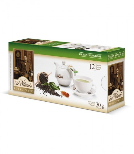 Sir Williams Royal Taste Green Kingdom Herbata 12 saszetek