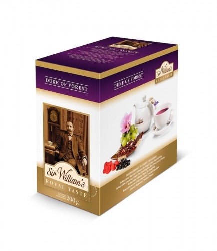 Sir Williams Royal Taste Duke of Forest Herbata 50 saszetek