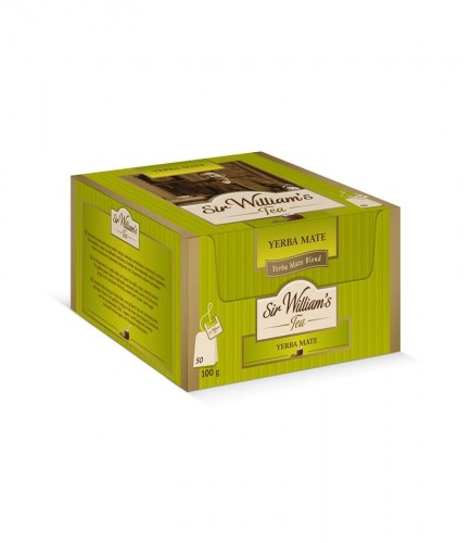 Sir Williams Tea Yerba Mate Herbata 50 saszetek