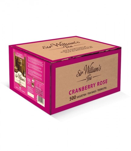 Sir Williams Tea Cranberry Rose Herbata 500 saszetek
