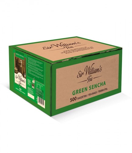 Sir Williams Tea Green Sencha Herbata 500 saszetek