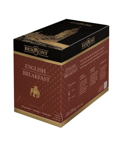 Richmont Excellence English Breakfast Herbata 50 saszetek