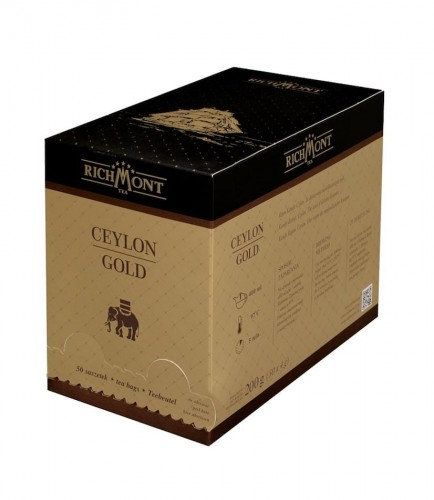Richmont Excellence Ceylon Gold Herbata 50 saszetek
