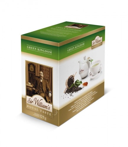 Sir Williams Royal Taste Green Kingdom Herbata 50 saszetek