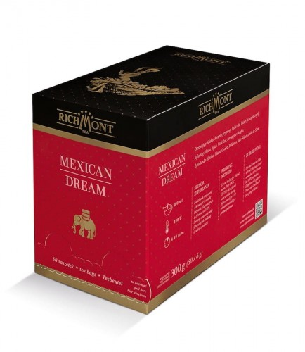 Richmont Excellence Mexican Dream Herbata 50 saszetek