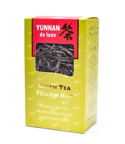 Yunnan Green Tea Yellow Bud Herbata liściasta 100g